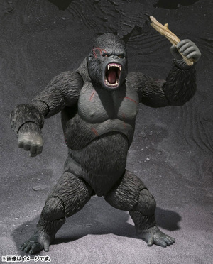 S.H.MonsterArts KING KONG The 8th Wonder of the World 08