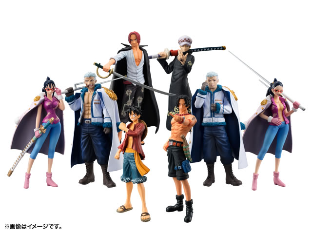 Chozokei Damashii ONE PIECE Series ONE PIECE -Law's ambition- 01