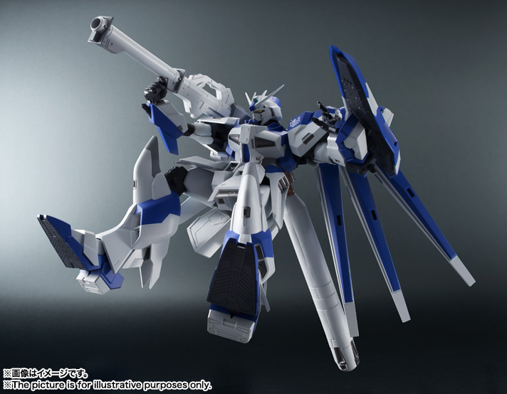 THE ROBOT SPIRITS <SIDE MS>Hi-ν Gundam 04