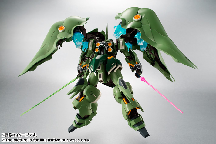 THE ROBOT SPIRITS 〈SIDE MS〉Kshatriya 01