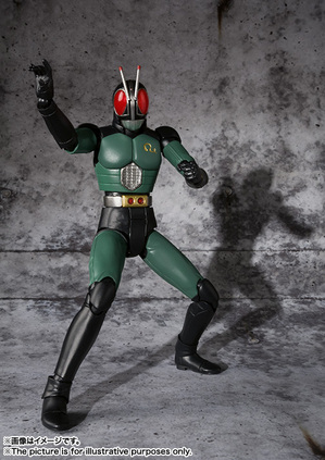 S.H.Figuarts MASKED RIDER BLACK RX 01