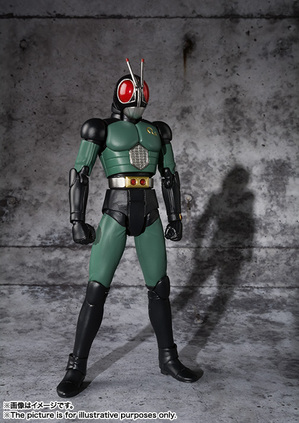 S.H.Figuarts MASKED RIDER BLACK RX 02