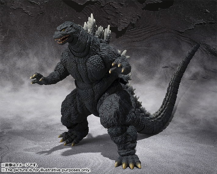 S.H.MonsterArts ゴジラ 05
