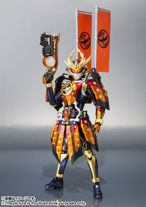 S.H.Figuarts 仮面ライダー鎧武 カチドキアームズ 01
