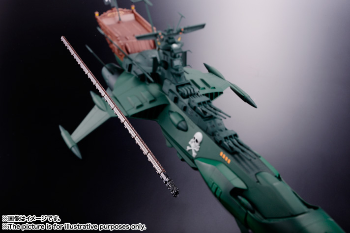 Soul of Chogokin SPACE PIRATE BATTLE SHIP ARCADIA 04