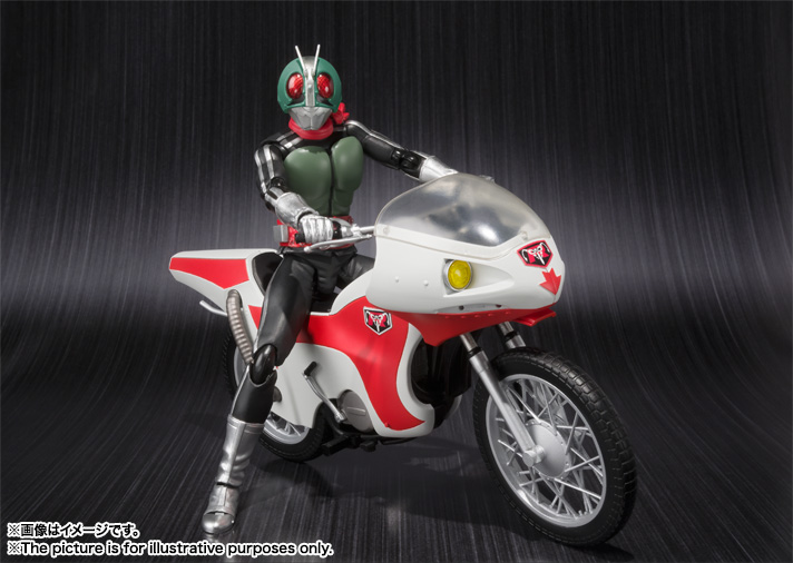 S.H.Figuarts MASKED RIDER NEW 1 & NEW CYCLONE 01