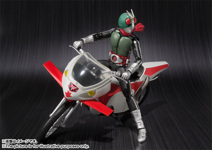 S.H.Figuarts MASKED RIDER NEW 1 & NEW CYCLONE 02