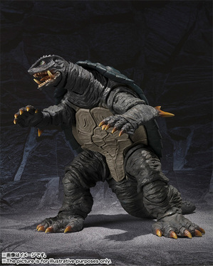 S.H.MonsterArts GAMERA (1996) 03