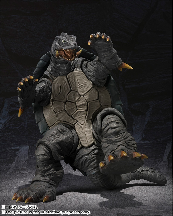 S.H.MonsterArts GAMERA (1996) 05
