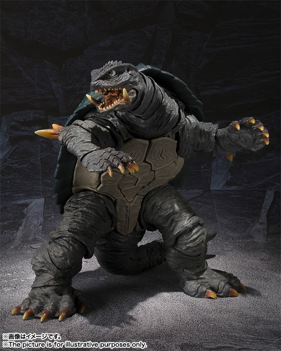 S.H.MonsterArts GAMERA (1996) 07