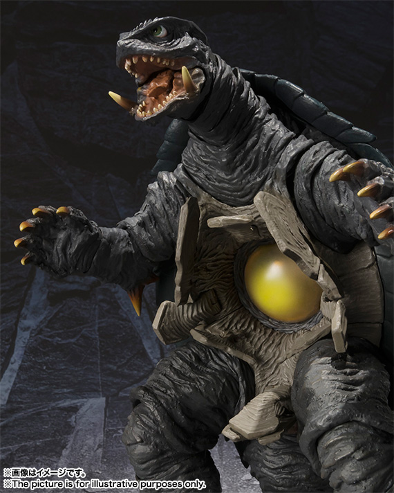 S.H.MonsterArts GAMERA (1996) 09