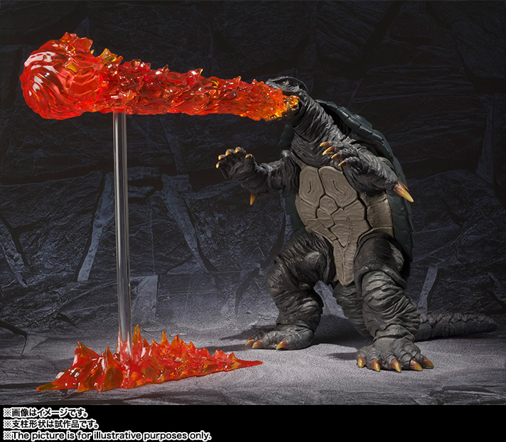 S.H.MonsterArts GAMERA (1996) 10