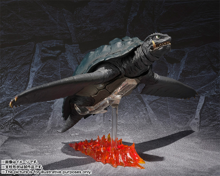 S.H.MonsterArts GAMERA (1996) 11