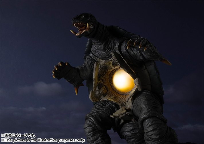 S.H.MonsterArts GAMERA (1996) 12