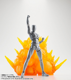 Tamashii Effect EXPLOSION RED VER. 01