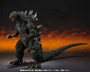 S.H.MonsterArts ゴジラ2000ミレニアム Special Color Ver. 04