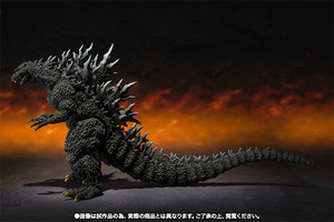 S.H.MonsterArts ゴジラ2000ミレニアム Special Color Ver. 05