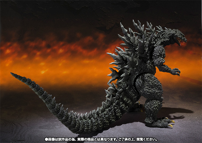 S.H.MonsterArts ゴジラ2000ミレニアム Special Color Ver. 06
