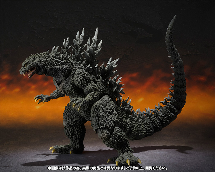 S.H.MonsterArts ゴジラ2000ミレニアム Special Color Ver. 07