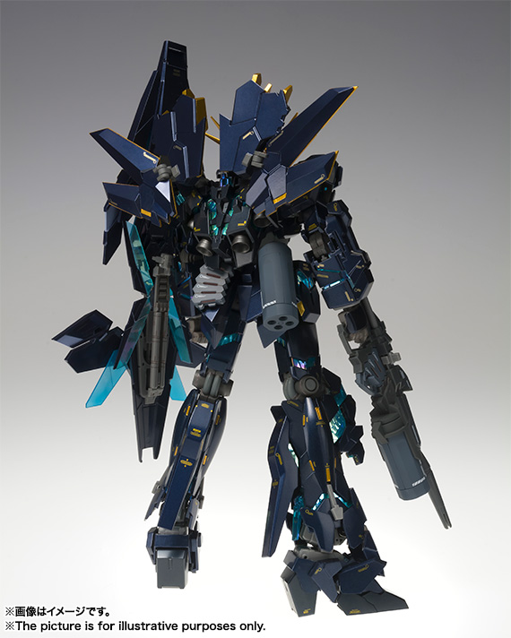 GUNDAM FIX FIGURATION METAL COMPOSITE BANSHEE NORN (AWAKEN FORM) 02