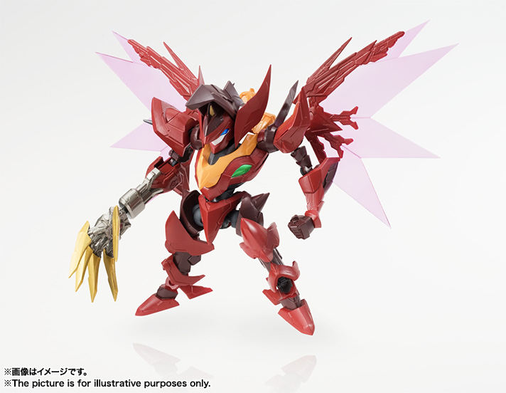 "NXEDGE STYLE [KMF UNIT] GUREN Type-08 Elements ""SEITEN"" 01"