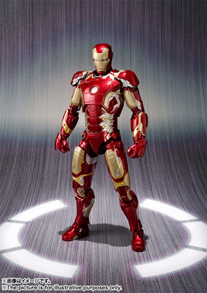 S.H.Figuarts Iron Man Mark 43 01