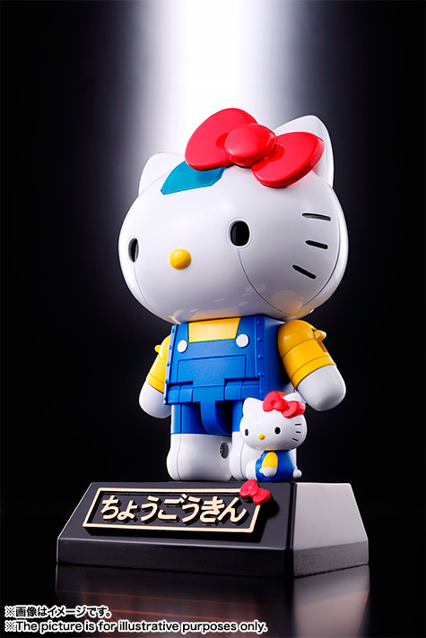 CHOGOKIN  HELLO KITTY (BLUE) 01