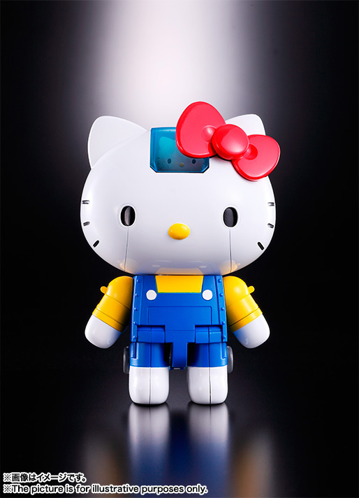 CHOGOKIN  HELLO KITTY (BLUE) 07