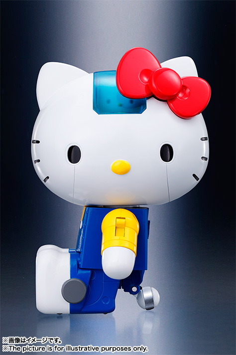 CHOGOKIN  HELLO KITTY (BLUE) 08