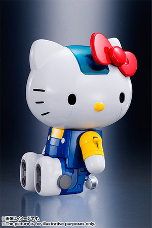 CHOGOKIN  HELLO KITTY (BLUE) 09