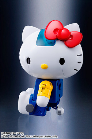 CHOGOKIN  HELLO KITTY (BLUE) 10