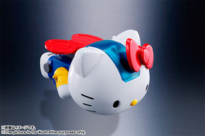 CHOGOKIN  HELLO KITTY (BLUE) 11