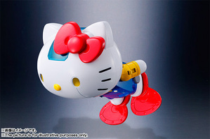 CHOGOKIN  HELLO KITTY (BLUE) 12