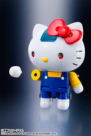 CHOGOKIN  HELLO KITTY (BLUE) 13