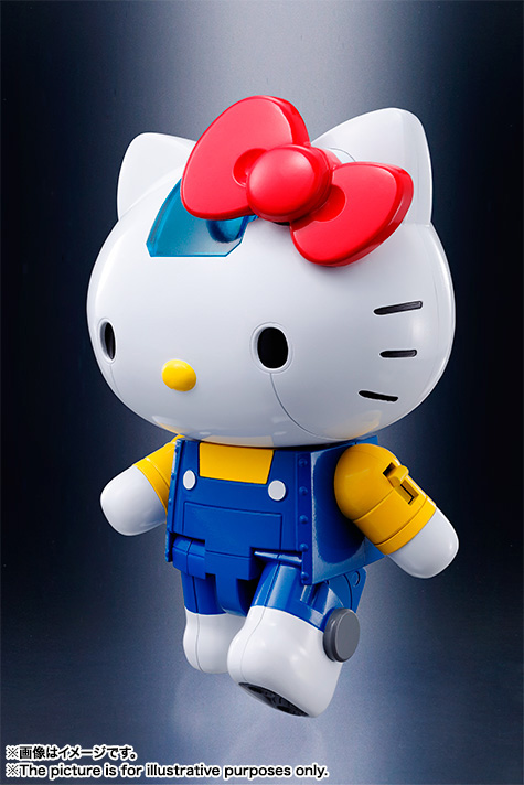 CHOGOKIN  HELLO KITTY (BLUE) 14