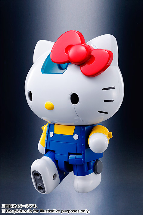 CHOGOKIN  HELLO KITTY (BLUE) 15