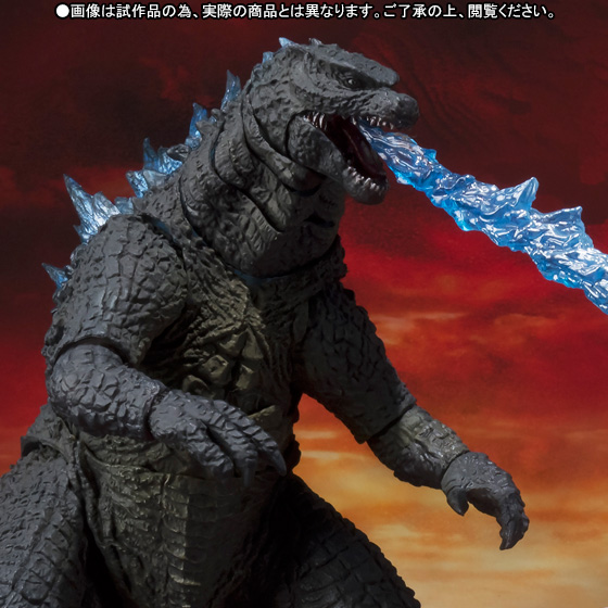 S.H.MonsterArts ゴジラ(2014) Spit Fire Ver. 01