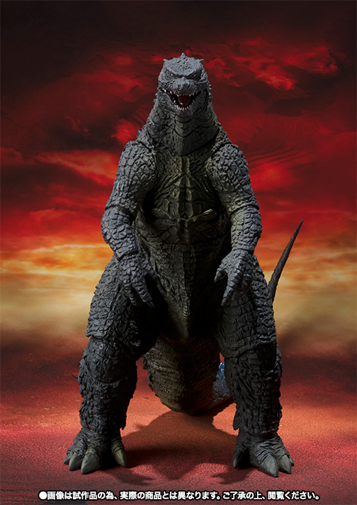 S.H.MonsterArts ゴジラ(2014) Spit Fire Ver. 04