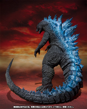 S.H.MonsterArts ゴジラ(2014) Spit Fire Ver. 06