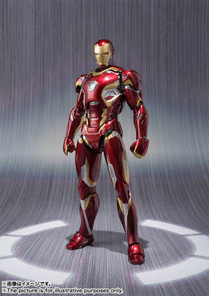 S.H.Figuarts IRON MAN MARK 45 01