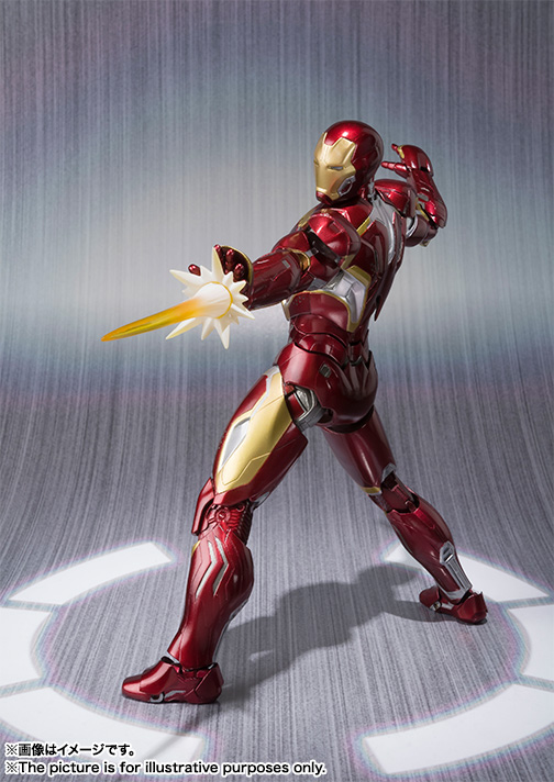 S.H.Figuarts IRON MAN MARK 45 03