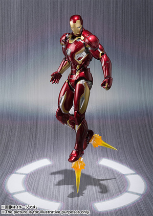 S.H.Figuarts IRON MAN MARK 45 04