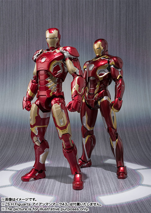 S.H.Figuarts IRON MAN MARK 45 06