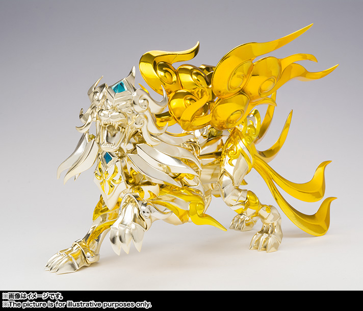 Saint Cloth Myth EX LEO AIOLIA(God Cloth) 06
