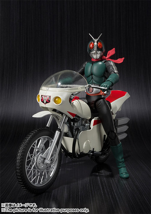 S.H.Figuarts MASKED RIDER 2 & IMPROVED CYCLONE 01