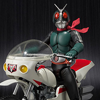 S.H.Figuarts MASKED RIDER 2 & IMPROVED CYCLONE