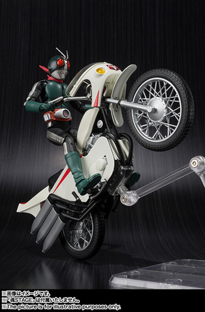 S.H.Figuarts MASKED RIDER 2 & IMPROVED CYCLONE 02
