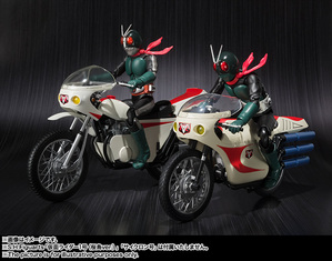 S.H.Figuarts MASKED RIDER 2 & IMPROVED CYCLONE 05