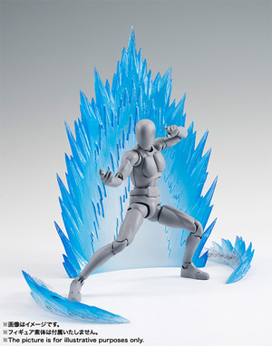 Tamashii Effect ENERGY AURA Blue Ver. 02