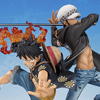 FiguartsZERO Monkey・D・Luffy & Trafalgar・Law -5th Anniversary Edition-